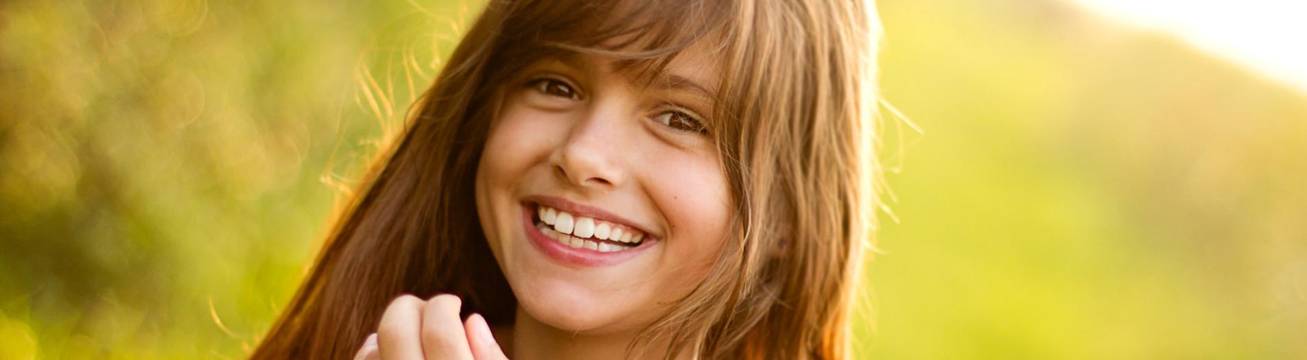 Kinderportret in magisch licht met Jill